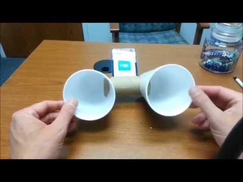 Life Hack Test - Homemade iPod Speaker
