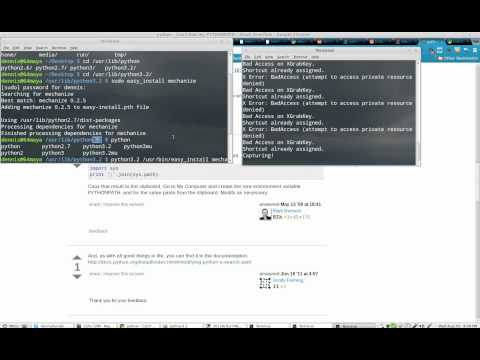 finding your python path on Linux Mint 13 Maya (64bit)