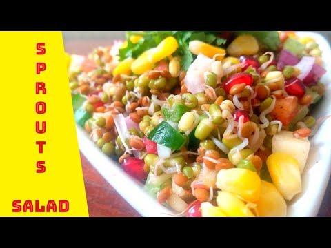 Sprouts Salad | Diet Recipe