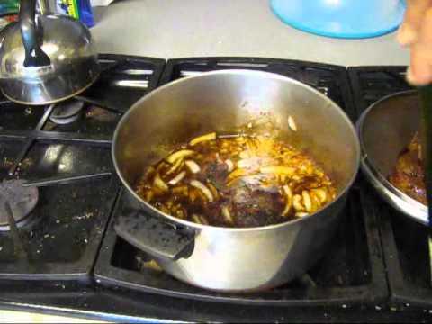 Easy pot roast with rice n gravy