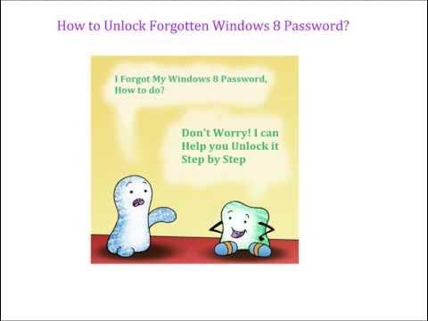 How to Unlock Windows 8 Password? Free Windows 8 Password Unlocker