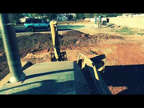 Excavation pre slab; a softer look
