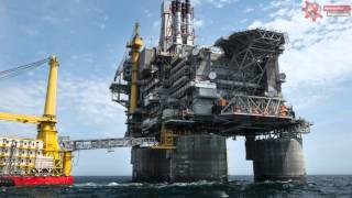 The Largest Oil Rig Of The World
