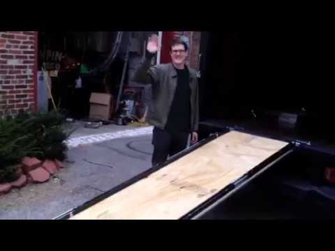 How to make a ramp for a box truck