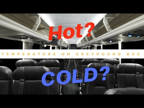 What's The TEMPERATURE Like On The GREYHOUND BUS?