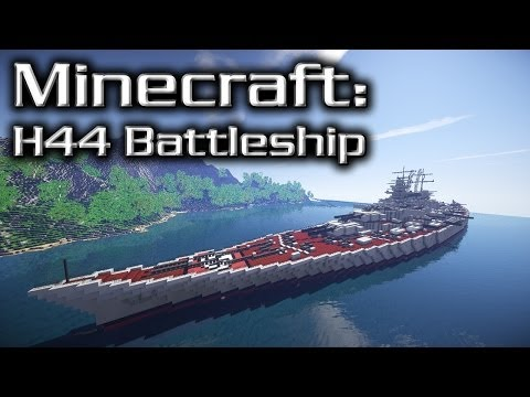 Minecraft: Super Battleship Tutorial (H44)