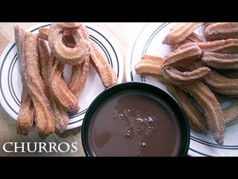 Churros and Hot Chocolate - Recipe
