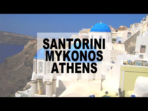 Getting Euratchet: Santorini, Mykonos, Athens