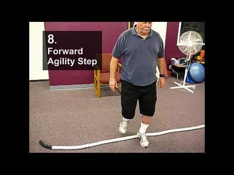 Fall Prevention Exercises (Balance Series) - Agility Stepover