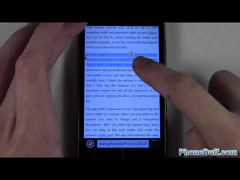 How To Copy And Paste On Windows Phone 7