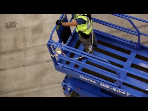How to drive and manouvre a scissor lift