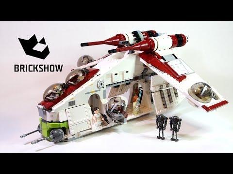 Lego Star Wars 75021 Republic Gunship Build & Review