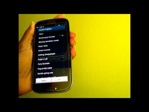 Samsung Galaxy S3 Ringtones