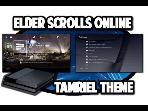 [PS4 THEMES] Elder Scrolls Online Tamriel Dynamic Theme Video in 60FPS