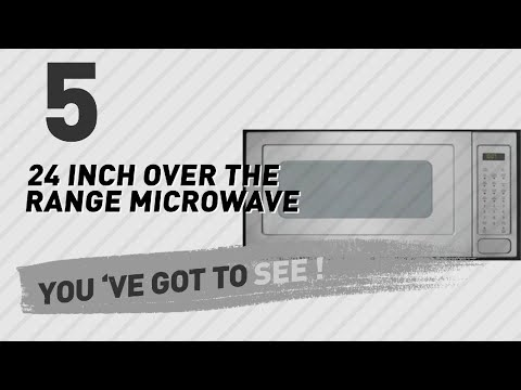 24 Inch Over The Range Microwave // New & Popular 2017