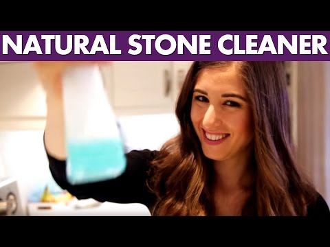 Natural Stone Cleaner - Day 18 - 31 Days of DIY Cleaners (Clean My Space)