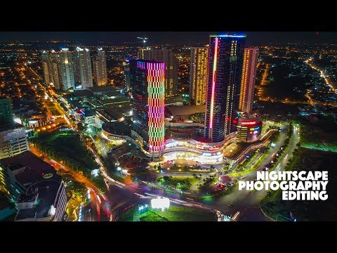 NightScape Photography Editing Photoshop CC | Drone Capture