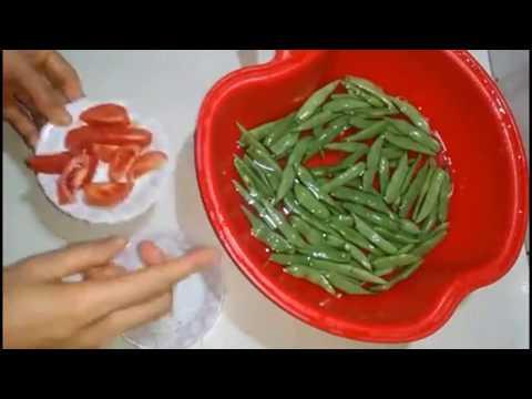 Cách làm món đậu đỗ xào tỏi giòn ngon!