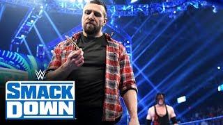 "Kane helps Daniel Bryan take a piece of ""The Fiend"" Bray Wyatt: SmackDown, Jan. 17, 2020"