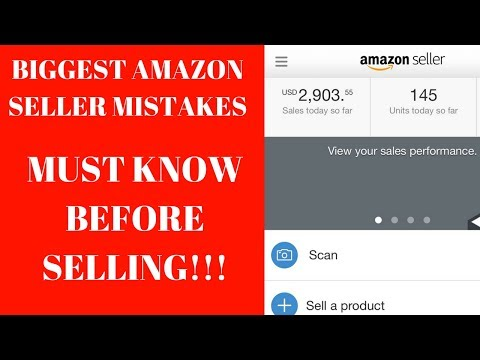 Biggest MISTAKES Amazon Sellers NEED To AVOID