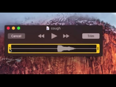 How to TRIM Audio files on OS X