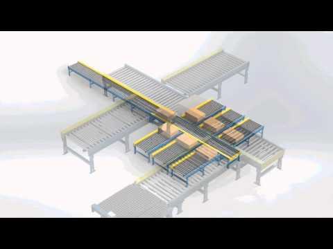Custom Powered Poly-V Conveyor System by LEWCO