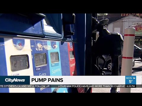 Gas prices up in most major Canadian markets