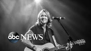 Keith Urban on speaking through the