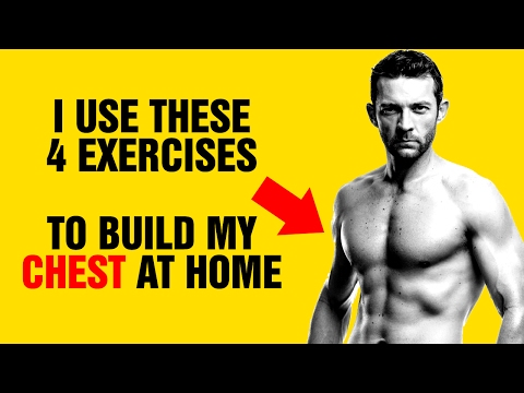 Build An Amazing Chest At Home With No Equipment : My Personal Chest Workout