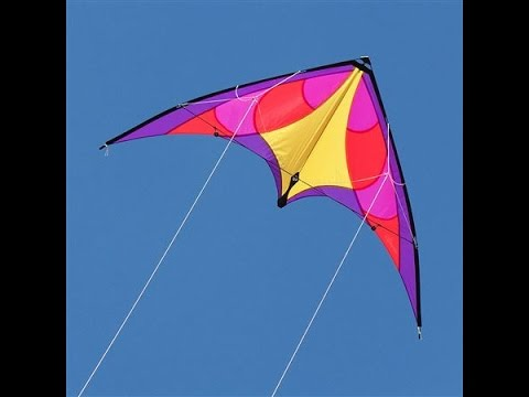 Flying a stunt kite in Coimbatore- India