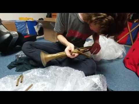 Unboxing a Bohland and Fuchs F Rotary Trumpet