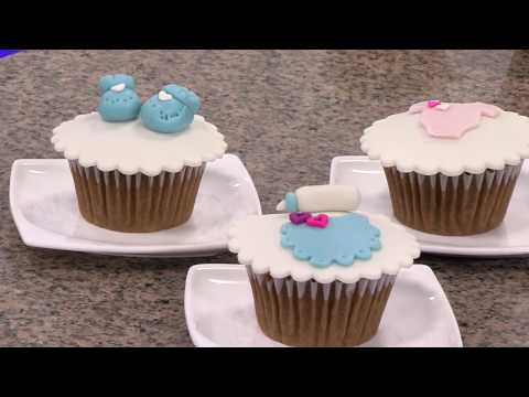 How To Do Cupcakes for Baby Shower- HogarTv by Juan Gonzalo Angel