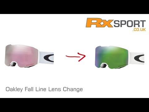 How to change an Oakley Fall Line lens | RxSport.co.uk
