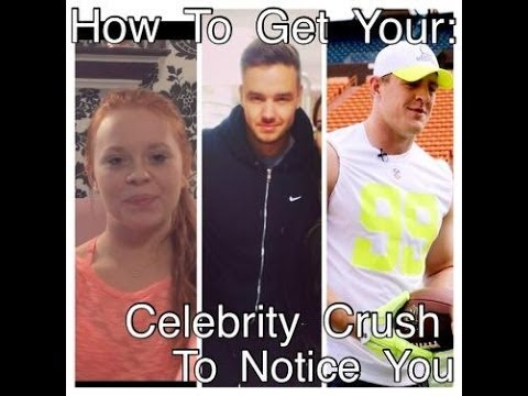 How To Get Your Celebrity Crush To Notice You | GingerJungleTV