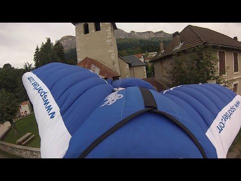 GIANT Slalom - Wingsuit fly