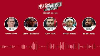 SPEAK FOR YOURSELF Audio Podcast (2.13.19) with Marcellus Wiley, Jason Whitlock | SPEAK FOR YOURSELF