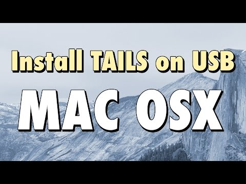 How to Install TAILS on a USB for Mac OS X
