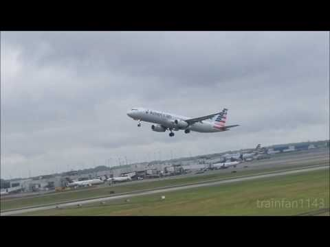 Tons of action at Charlotte Douglas International Airport with (Matt Cochran-inspired) commentary