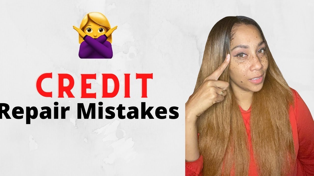 🔥The biggest mistakes you're making when trying to improve your credit!