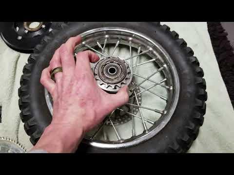 How To Remove Rear Sprocket Freewheel Clutch Bearing Razor MX500 MX650 Electric Dirt Bike!