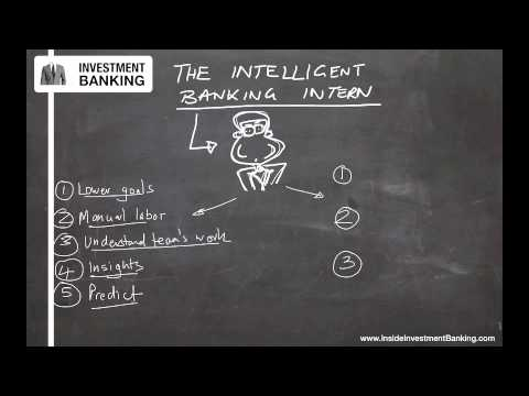 The Intelligent Investment Banking Intern