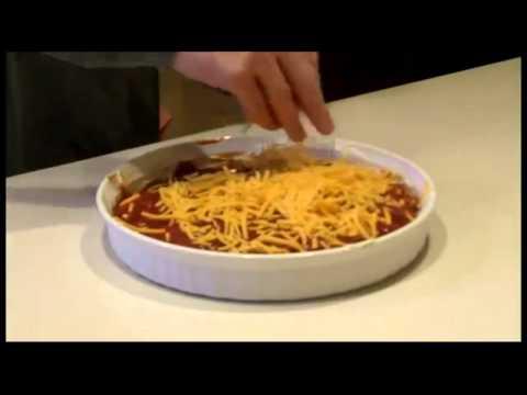 Easy Cheesy Hot Bean Dip