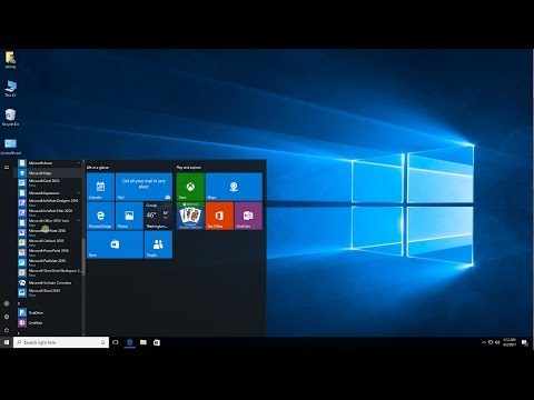 Windows 10 - How to Organize the Start Menu
