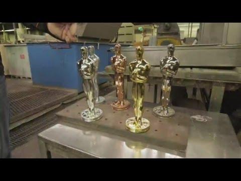 How to make an Oscar statue