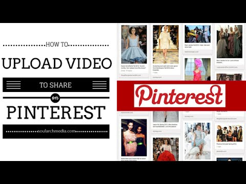 How To Pin Or Add Video To Pinterest ( Mobile App and Desktop Demo)