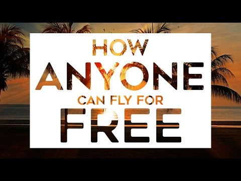 How ANYONE Can Fly For Free (2017) - HOW TO CHEAT TRAVEL CREDIT CARDS