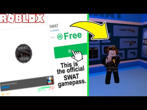 HOW TO GET SWAT GAMEPASS for FREE! *VERY EASY*(2018) (ROBLOX Jailbreak)