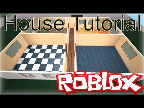 ROBLOX Building Tutorial: How To Make a Basic Realistic House (Best 2015 Voice)