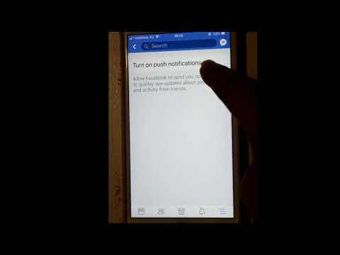 How to turn off or disable notifications in Facebook iOS or iPhone app