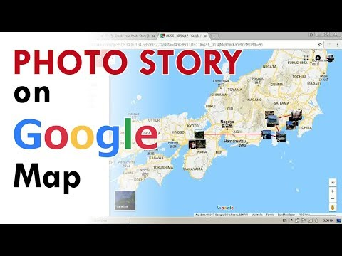 How to put Photos on Google Maps